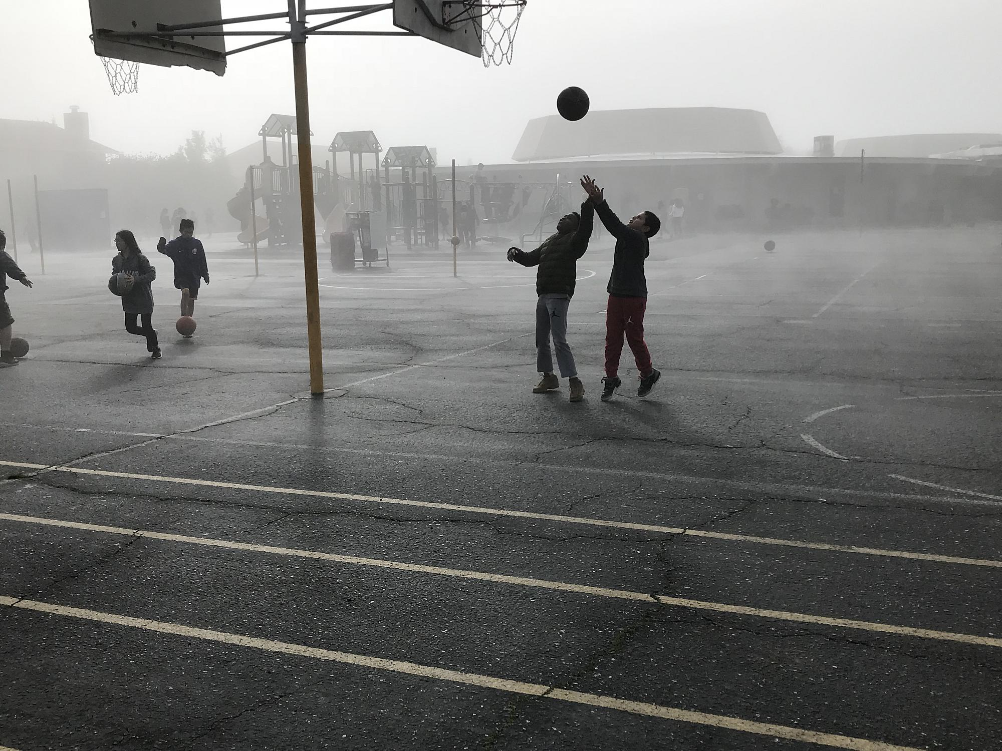 Foggy day Recess