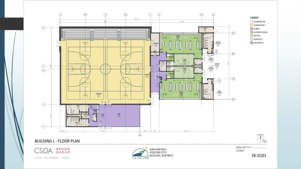 Borel Building L Floor Plan