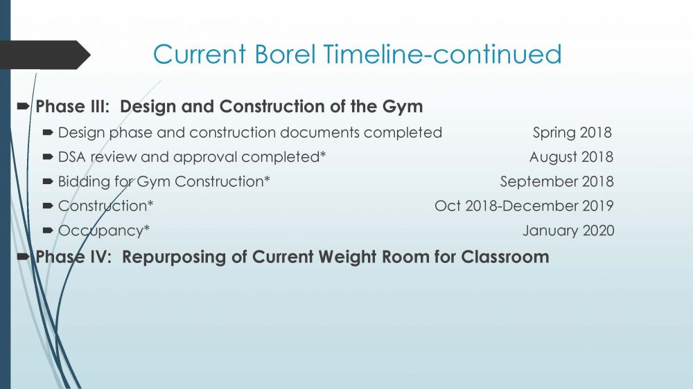 Borel Projected Timeline - pg.2