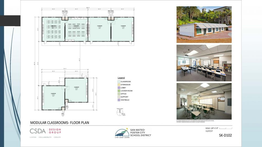 Borel Modular Classrooms - Floor Plan