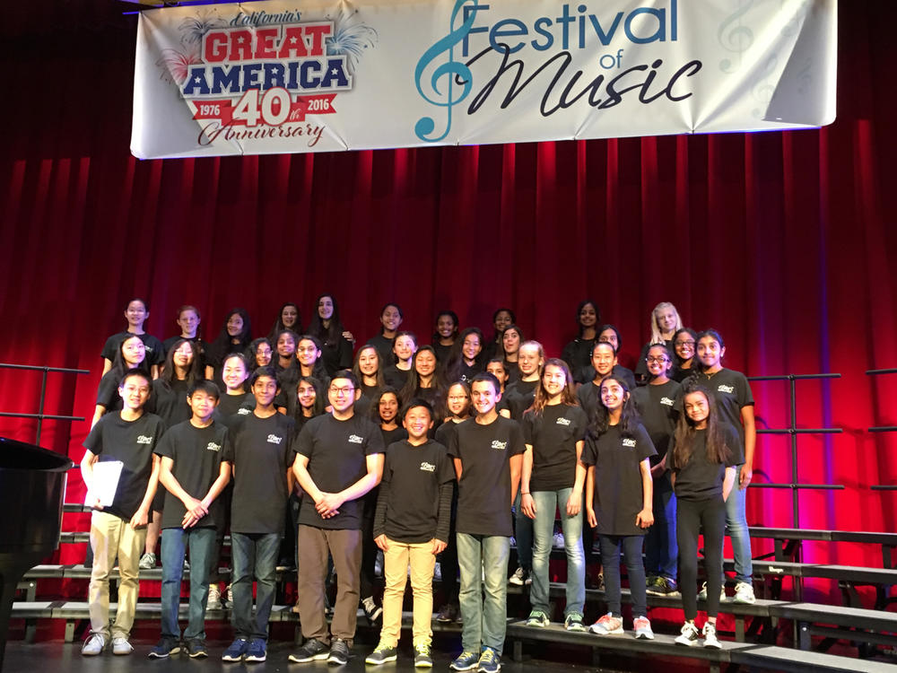 Bowditch Glee Club - 1st Place at Great America Festivals of Music