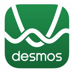 Desmos button