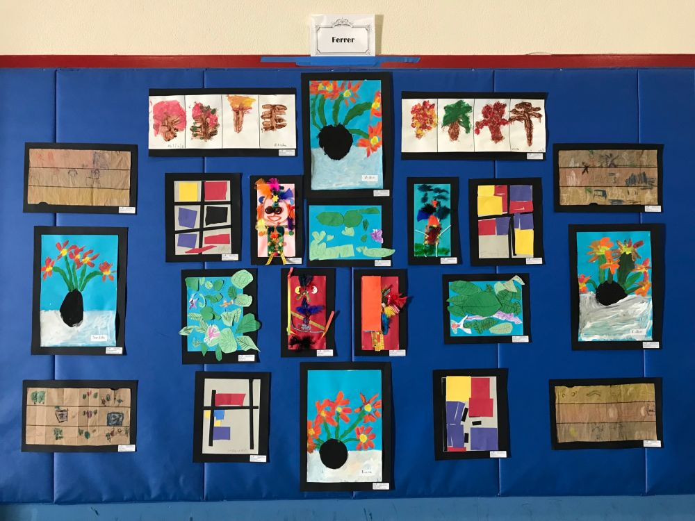 kindergarten art in action r.s ferrer
