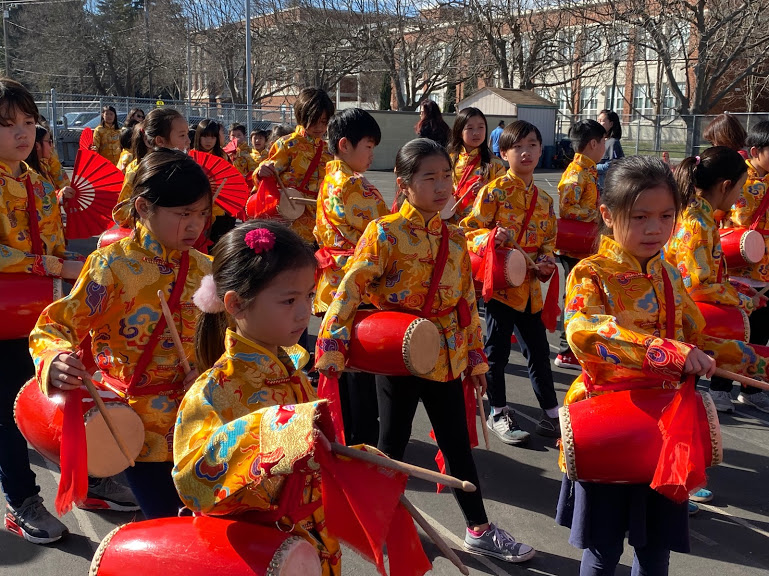 2020 Chinese new year parade