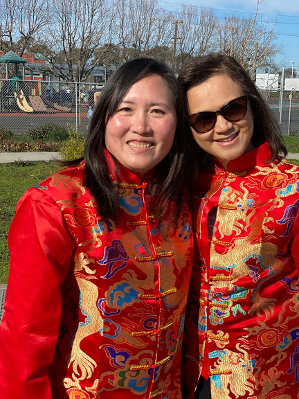 2020 CNY Parade Parent organizers, Ms. Sherry Wagner and Ms. Yining Wang