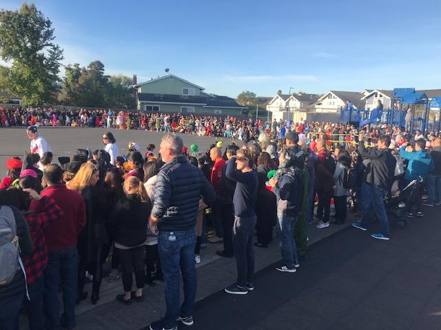 Halloween Parade at Foster City School