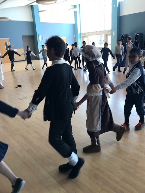Fifth Grade Colonial Days (PTA Assembly)