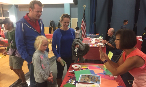2016 Family Art night Display