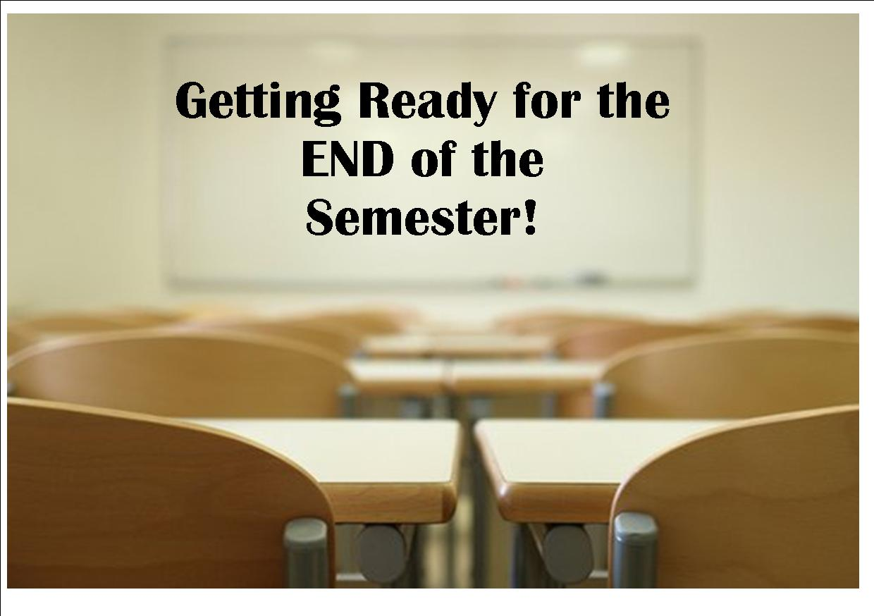 The last day of the semester is January 22!