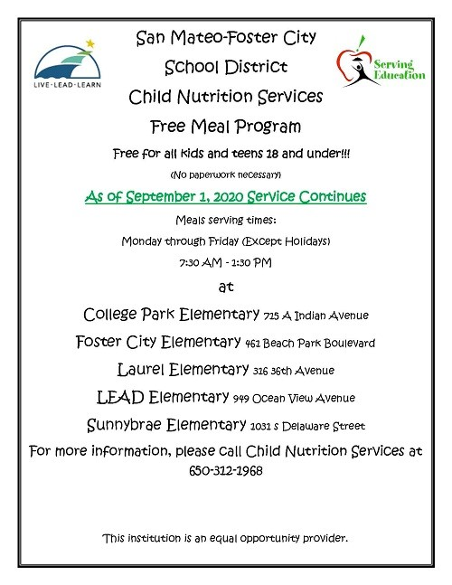 School Meal program